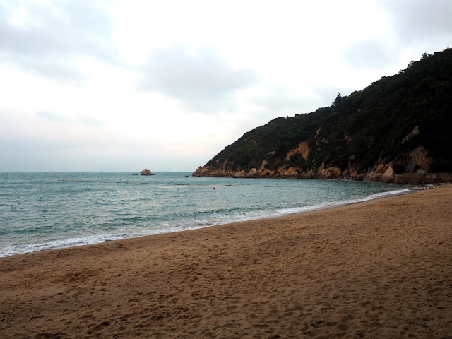 Kwun Yam Wan beach on Cheung Chau Island, Hong Kong
