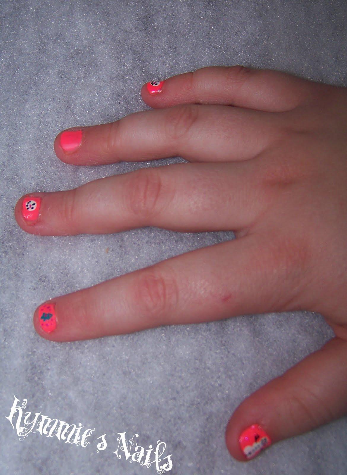 Kimmie\'s Nails: Christmas Nails 2011