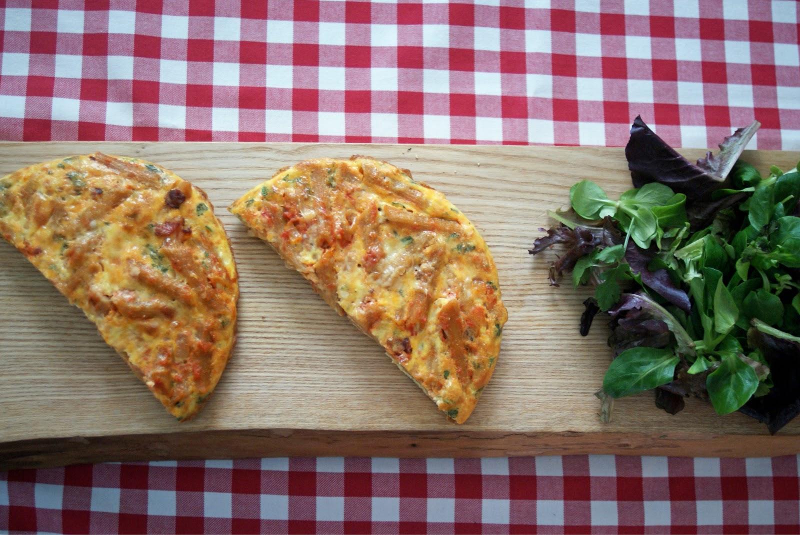 Piccante Dolce: Sunday Brunch: Pasta Frittata