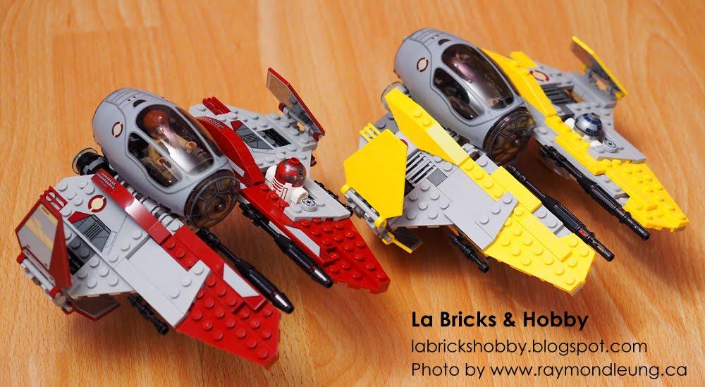 la bricks & hobby: lego star wars: obi-wan's jedi interceptor
