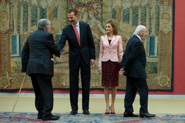 King Felipe VI of Spain and Queen Letizia of Spain  Madrid, Spain