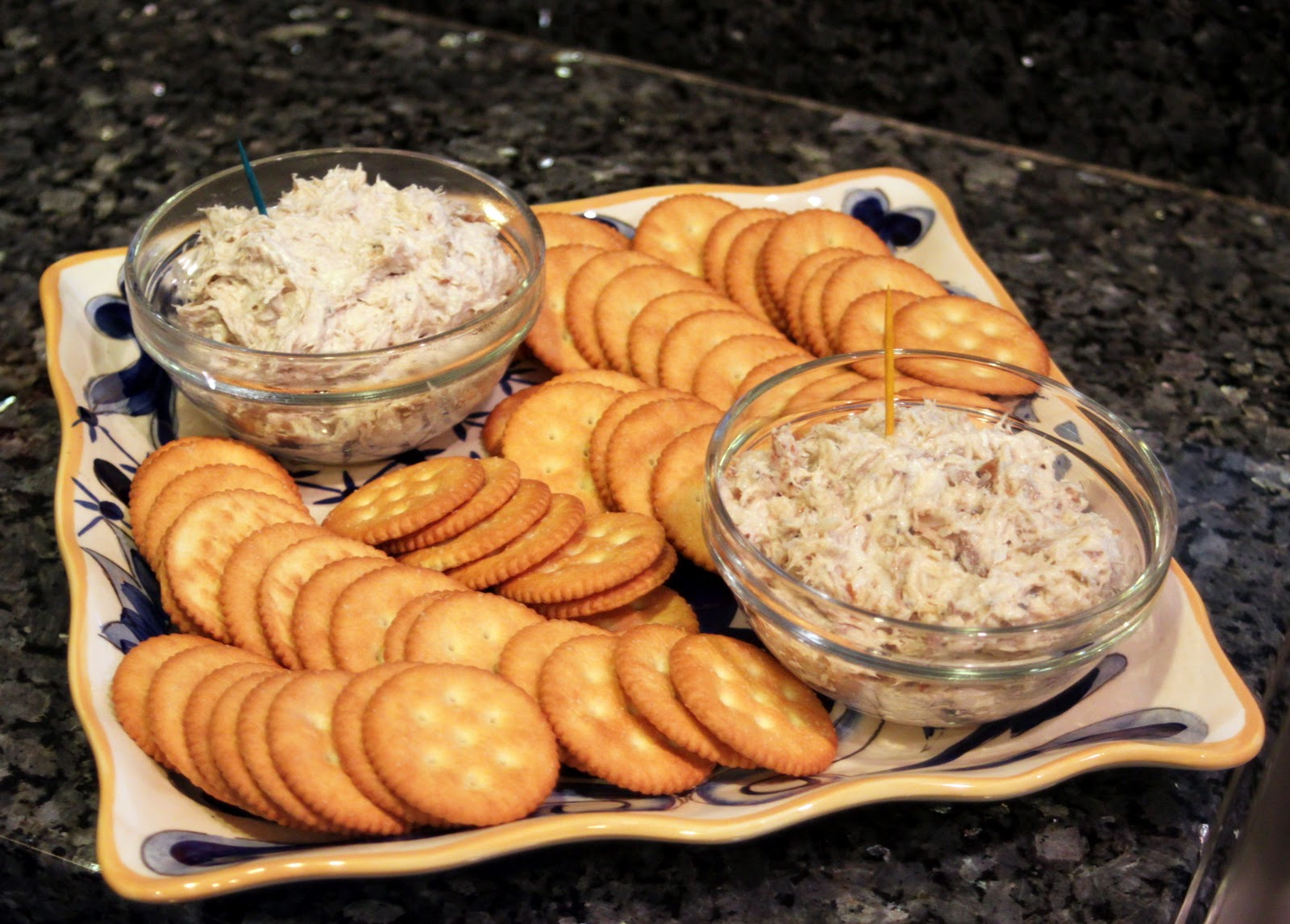 Pineapple grass fish dip face off for Fish dip recipe