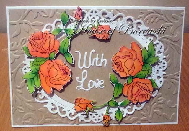 Diecut Divas, Sandi Samples Roses