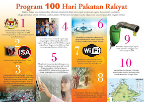 Janji 100 hari Pakatan Rakyat
