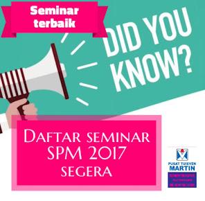 Seminar SPM 2017