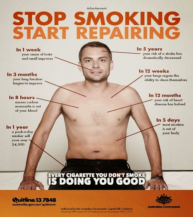 health improves amazingly when you quit smoking