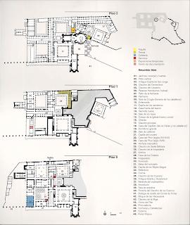Plano del Convento de Crito en Tomar - Historiadelascivilizaciones.com