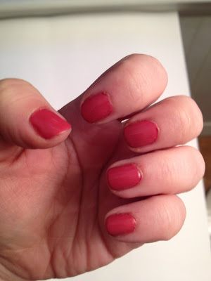 Rimmel English Rose Nail of the Day