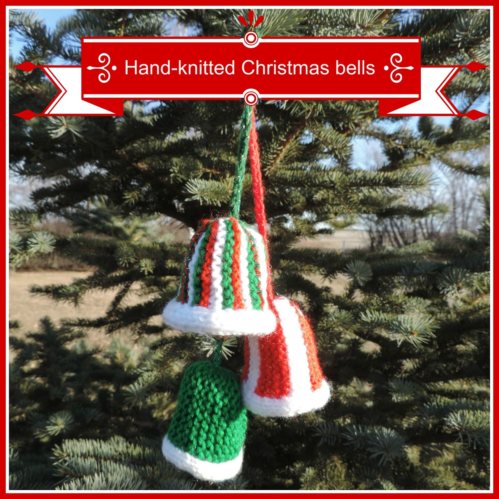 What happened to christmas oranges for Knitted christmas bells