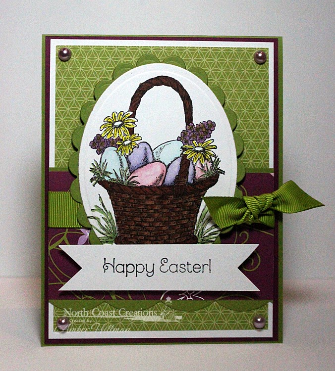 Stamps -  North Coast Creations Easter Basket