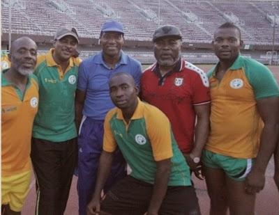 nollywood football match lagos