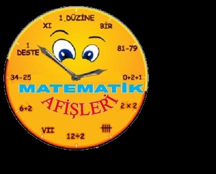 matematik afişi