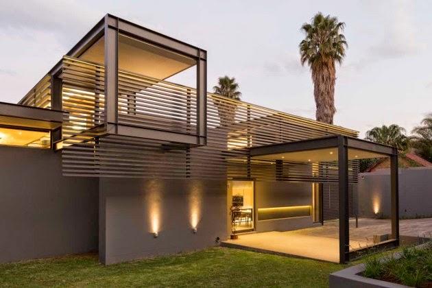 Arquitectura de lujo en forma y funci n casa sar nico for Formas de techos para casas