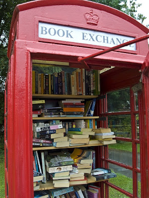 When a Telephone Box is a Library