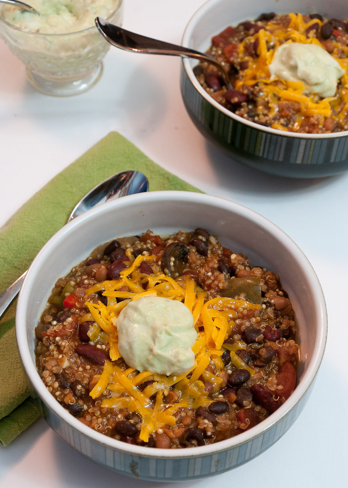 Sweet Twist of Blogging: Vegetarian Quinoa Chili
