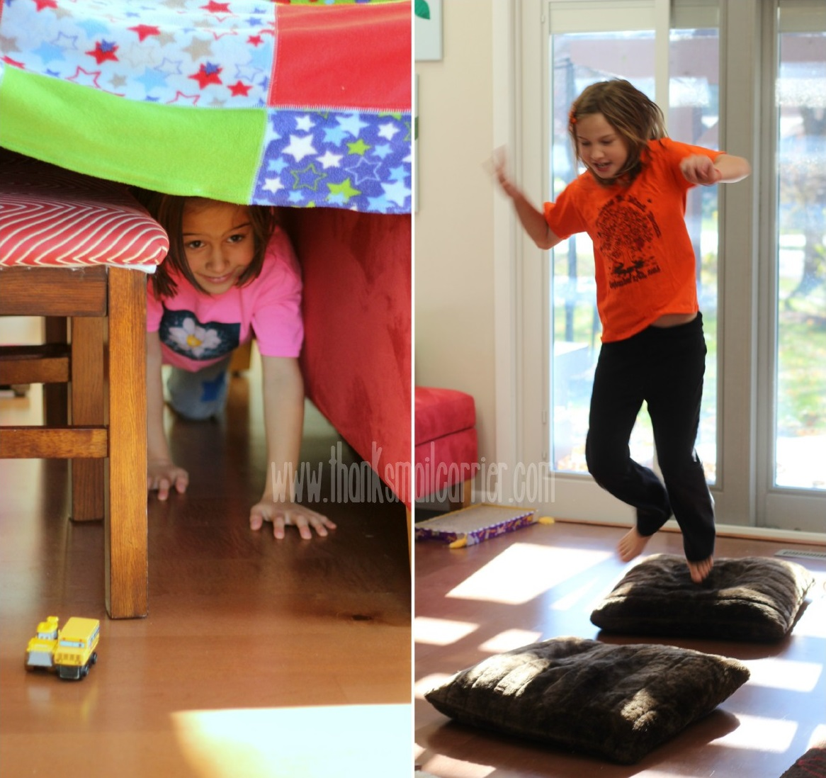 children's obstacle course