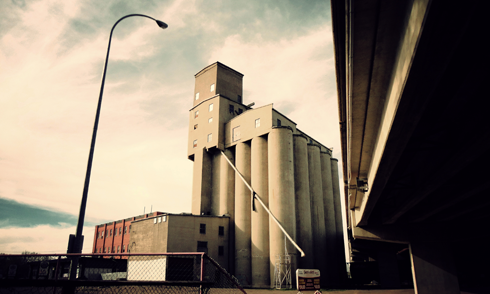 five roses flour mill medicine hat alberta photography