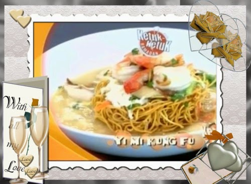 Ketuk-ketuk Ramadan 2014 bersama Kilafairy - Yi Mi Kung Fu, Spaghetti Aglio Olio