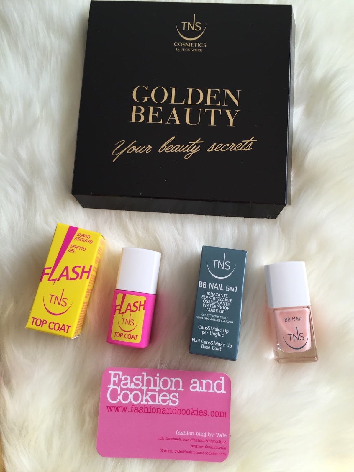 TNS cosmetics golden beauty flash top coat and bb nail on Fashion and Cookies beauty blog, beauty blogger