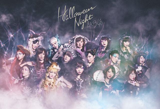 AKB48 ハロウィン・ナイト ジャケット Halloween Night Promo