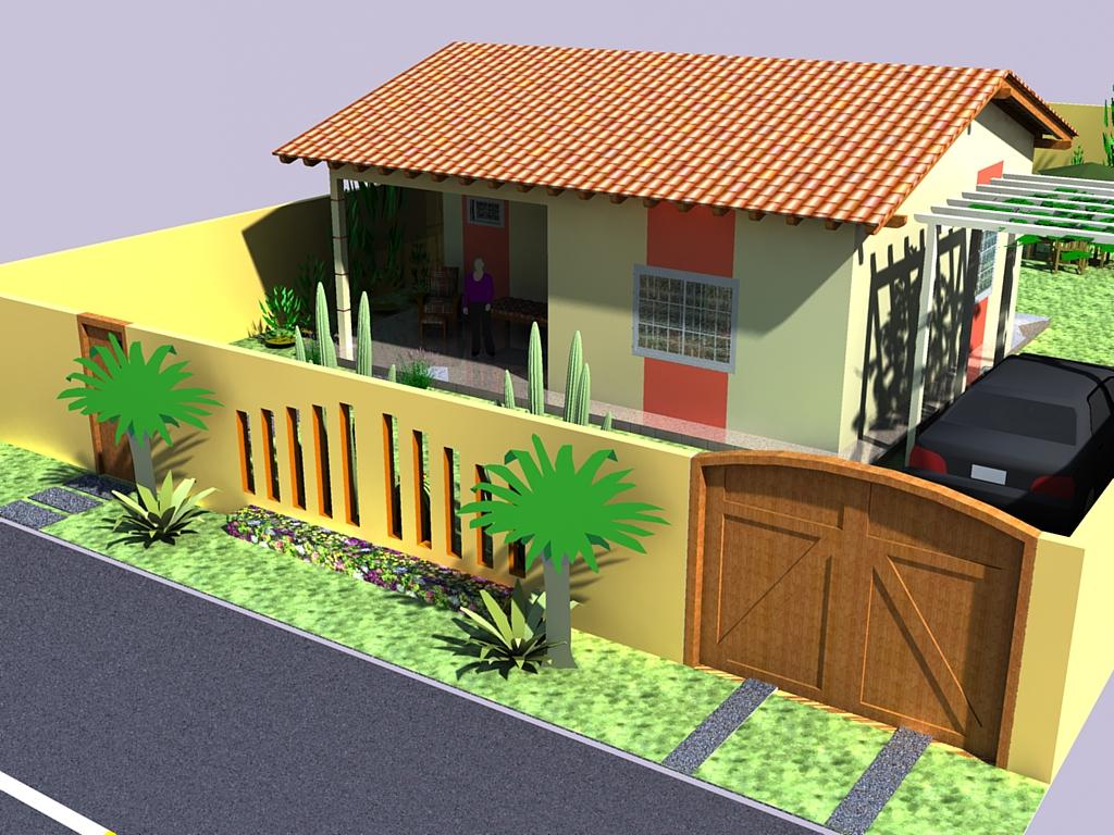 Projetos Arquitetonicos : Projetos Arquitetonicos feito no Sketchup  #7A411E 1024 768