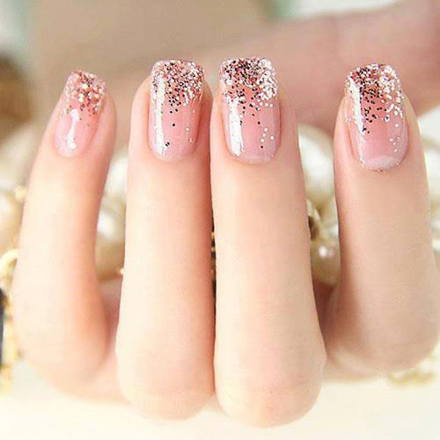 Soft hands nail style for ladies