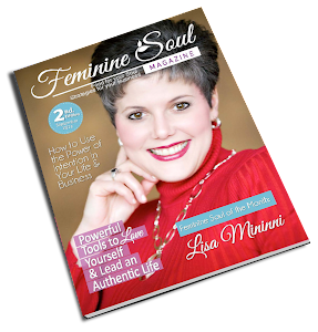 Heather Paris featured in 'Feminine Soul' Magazine