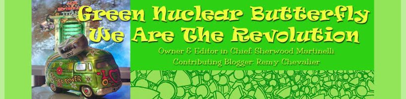 Green Nuclear Butterfly Blog