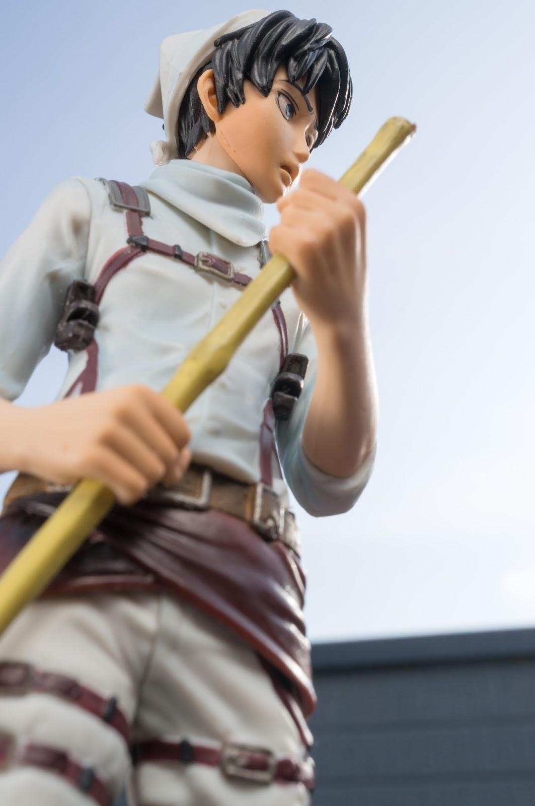 【プライズレビュー】進撃の巨人 DXFお掃除エレンフィギュア【バンプレスト】