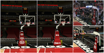 NBA 2K14 United Center Court Mod