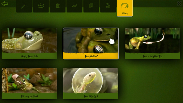 Frog Dissection - App