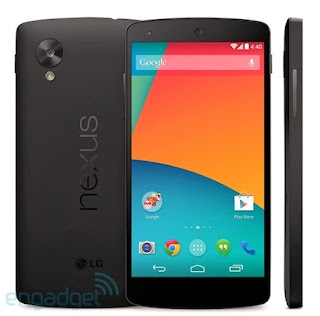 nexus 5 was seen in play store