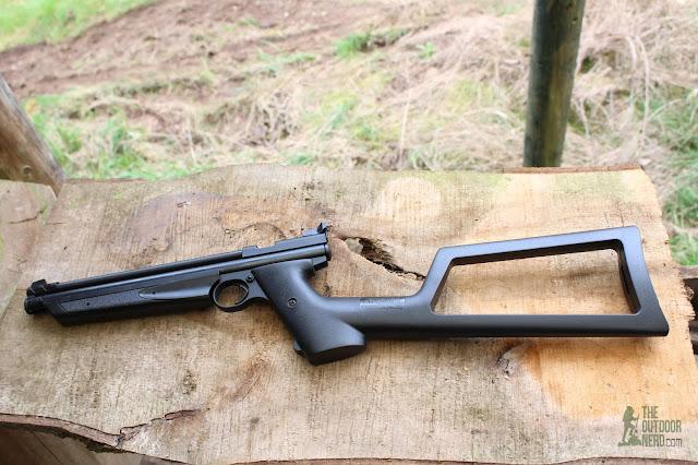 Crosman 1322 Air Pistol - Removable Stock 1