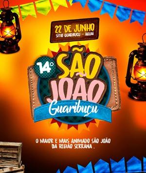 14° São João do Guaribuçú