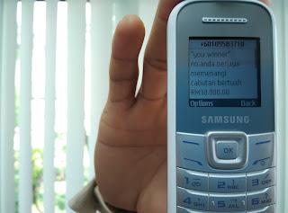 penipuan sms, penipuan zaman teknologi,