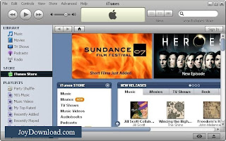 iTunes Screenshoot