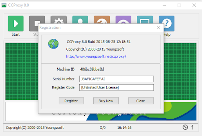 CC Proxy 8.0 Build 20160105 Full Keygen