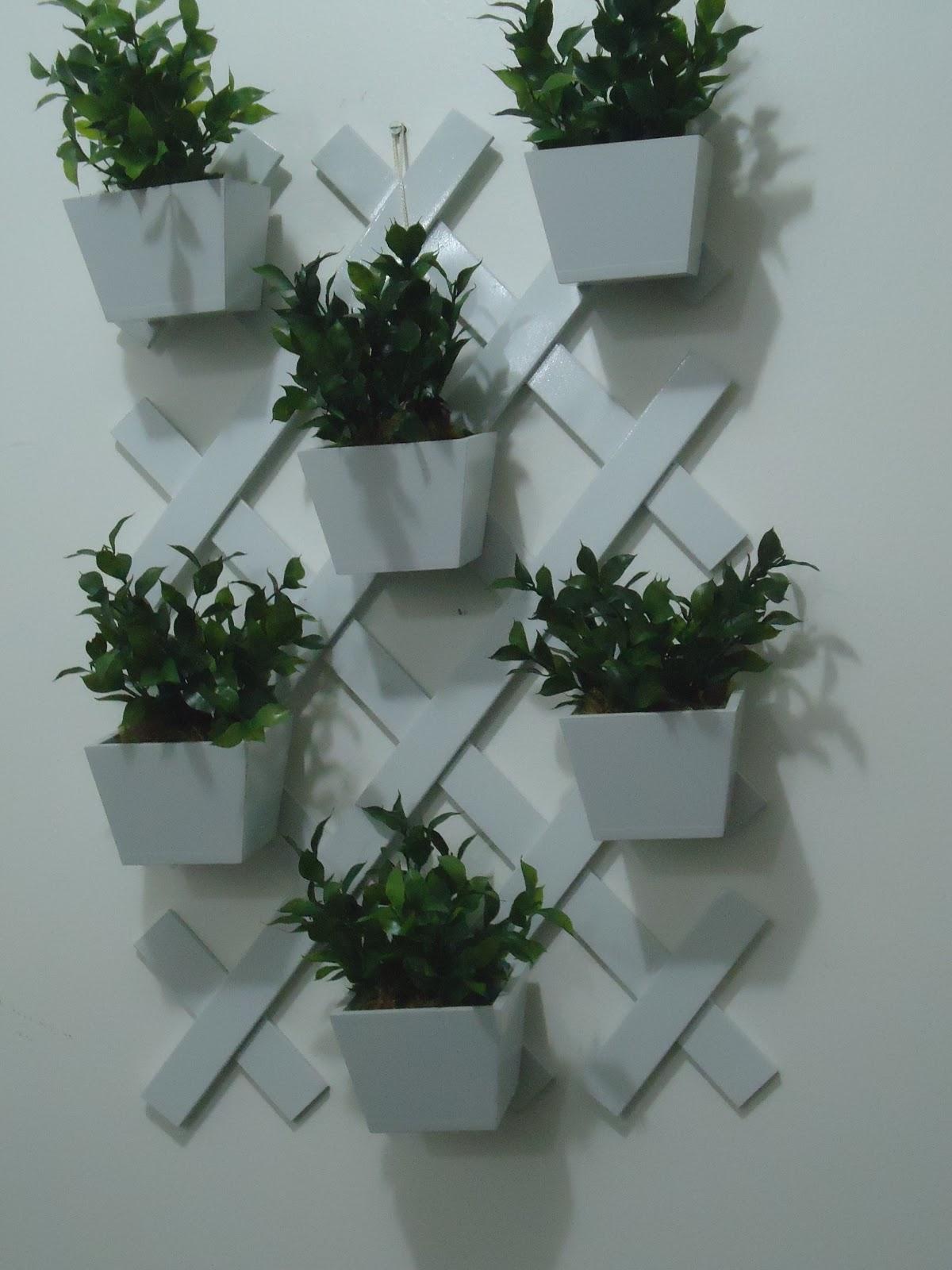 Toque de Arte Jardim suspenso e arranjos de flores