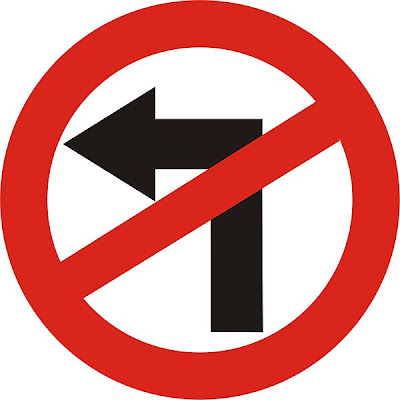 Adroit, Left-handed prejudice, Traffic sign, Road sign