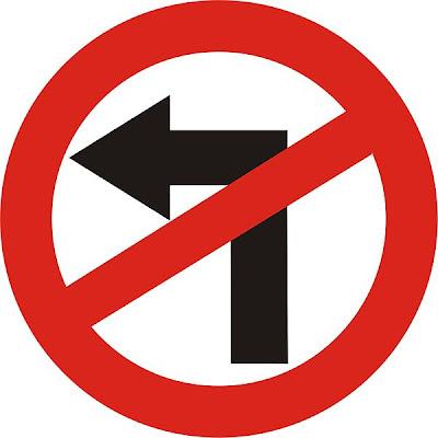 Adroit, Left-handed prejudice, Traffic sign, Road sign