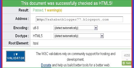 Menghapus Kode Error HTML Pada Template
