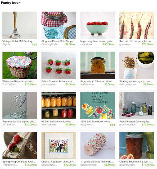 canning, preserving, and pickling garden veggies treasury
