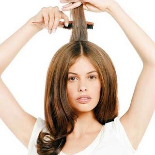 como dar volumen al pelo seco