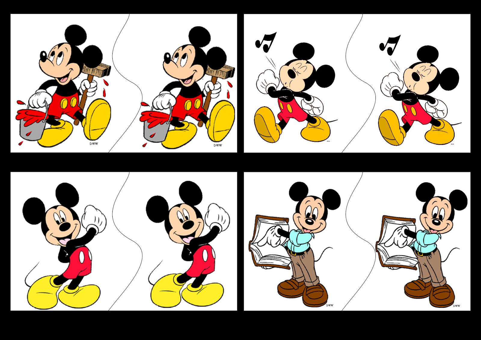 Jogo Pares Mickey e Minnie