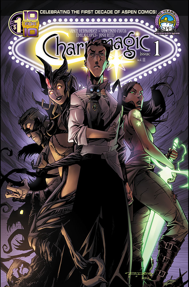 """Popular Magical Series Charismagic Returns For Aspen's Fourth """"10 for 10"""" Release"""