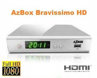 azbox bravissimo twin novo dump claro tv