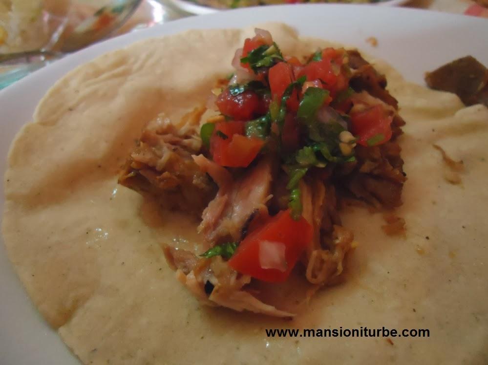 Carnitas tacos are delicious