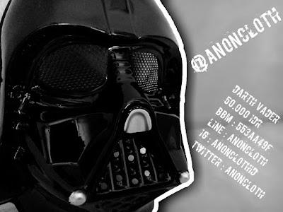 Jual Topeng Darth Vader Star Wars