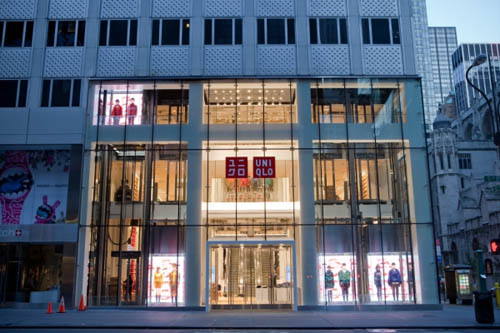 Uniqlo Fifth Avenue New York Shopfront