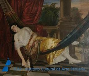 Imagen de La limeña en la hamaca de Luis Montero